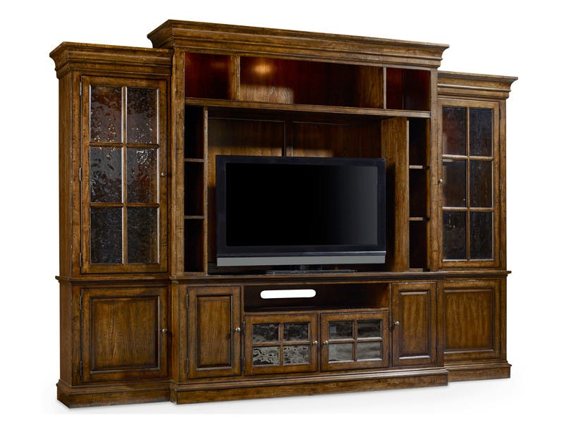 hooker furniture tv console