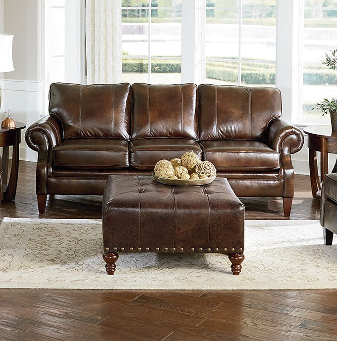 Living Rooms With Brown Furniture. Shop Leather Furniture Living ...