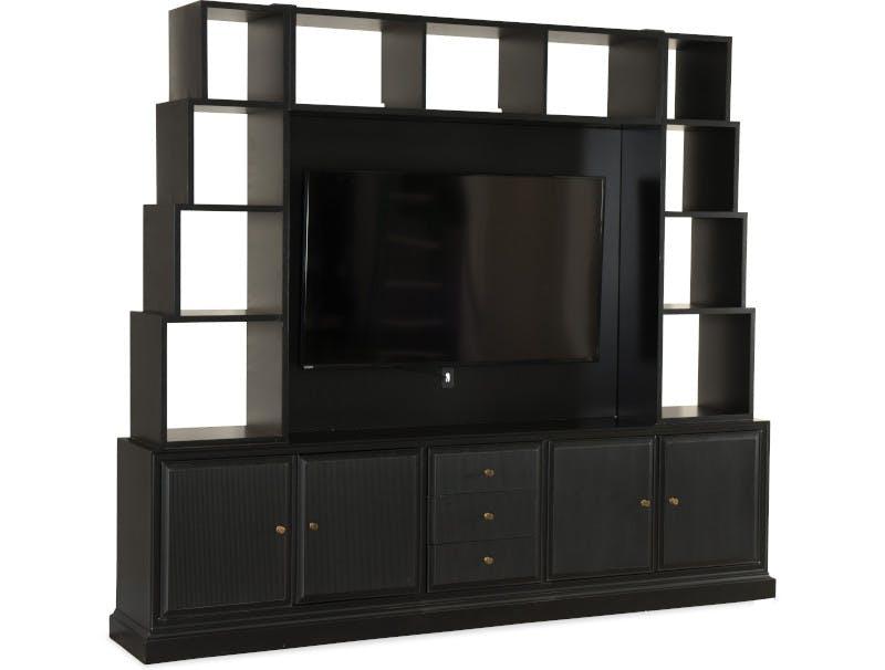 Magnificent Home Entertainment Furniture Consoles Hooker Furniture Machost Co Dining Chair Design Ideas Machostcouk