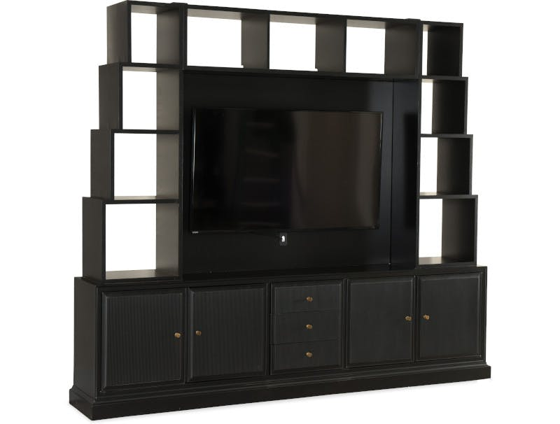 home entertainment wall units