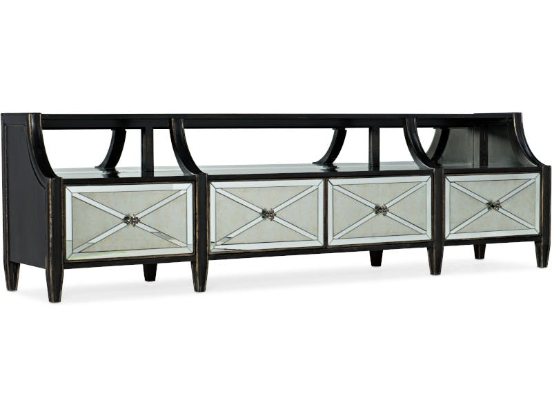 TV unit Stand Black Bench Side Tables bench floor standing stool