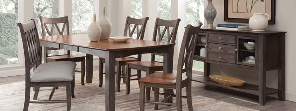 Home Garden Dining Sets Farmhouse Dining Table Home Kitchen Solid Wood Cottage Dining Room Tables 2 Tone Stbalia Ac Id