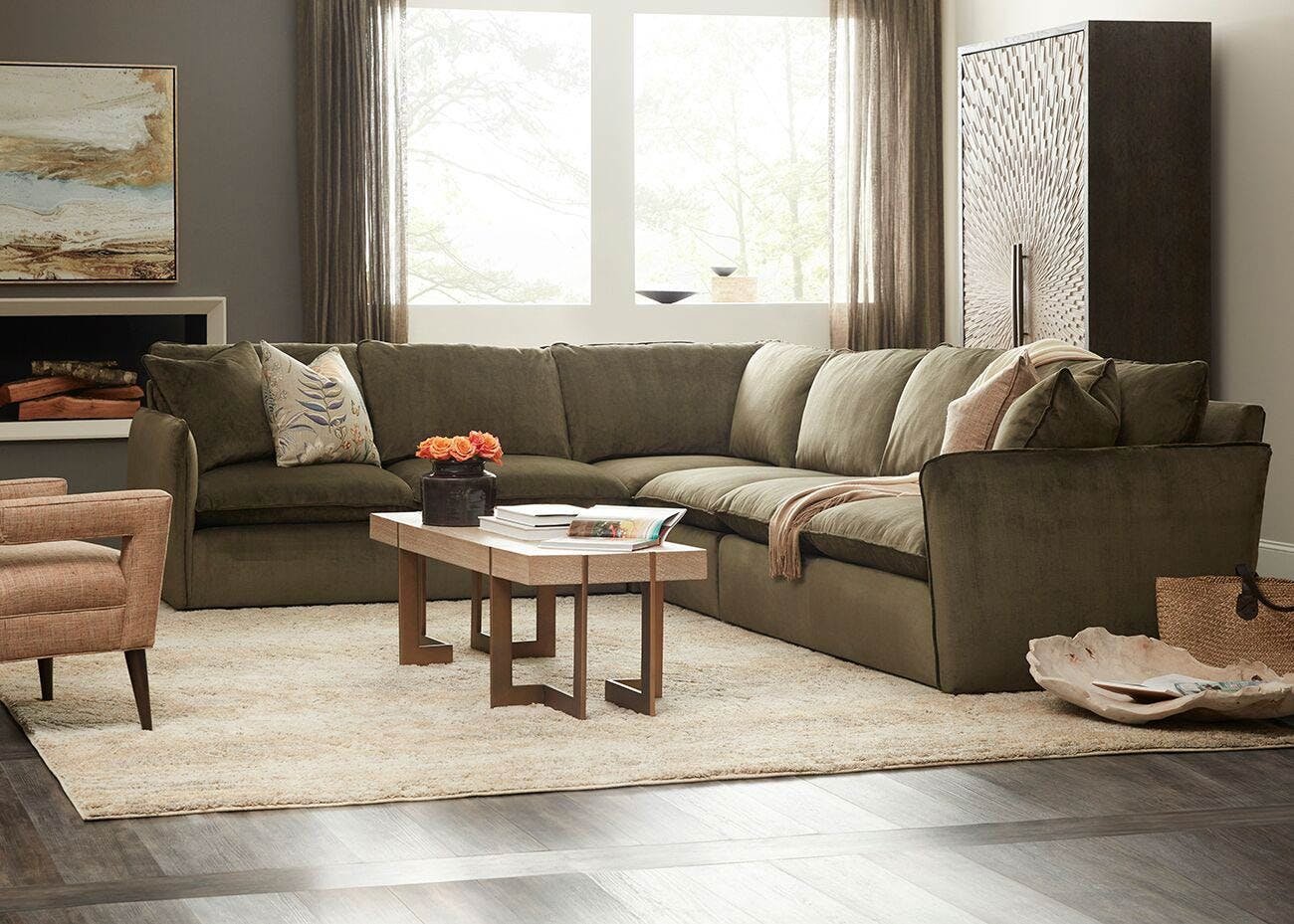 Sam Moore Sectionals. Updated Classics   Trendy Transitional Home Furnishings   Sam Moore