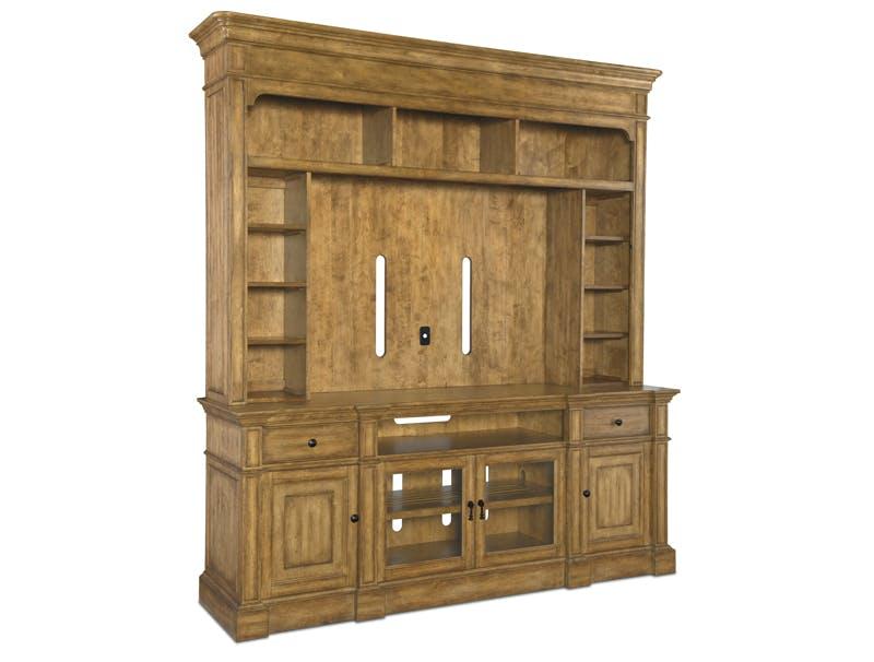 home entertainment furniture consoles hooker furniture. Black Bedroom Furniture Sets. Home Design Ideas
