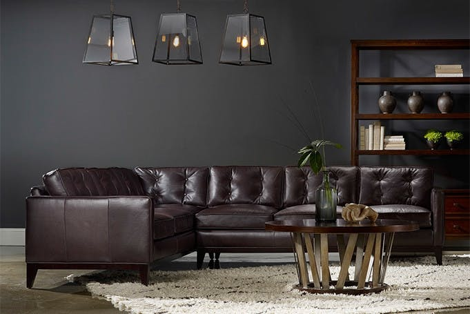 Bradington Young Zev Sectional